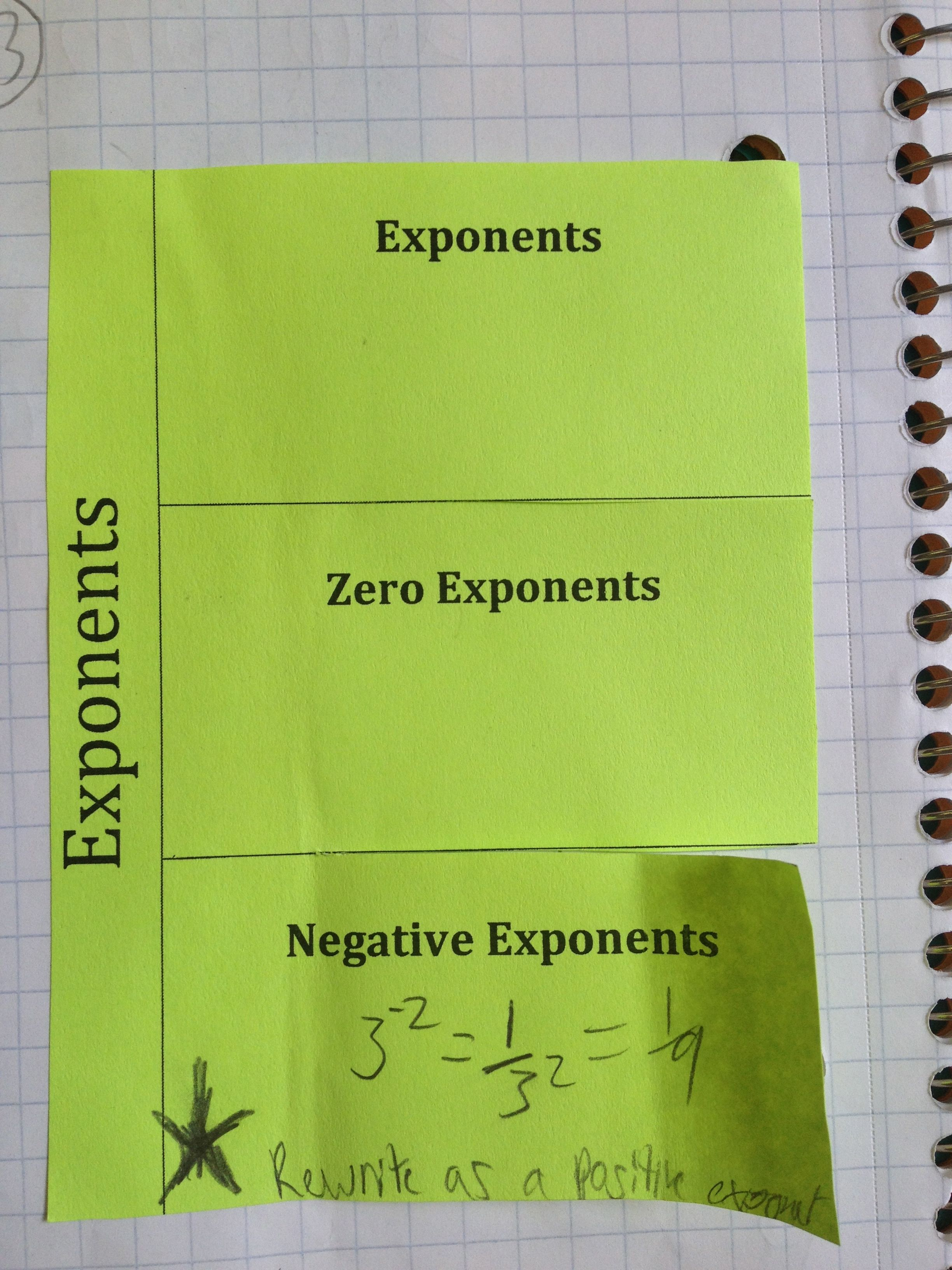 how to write an exponent in google