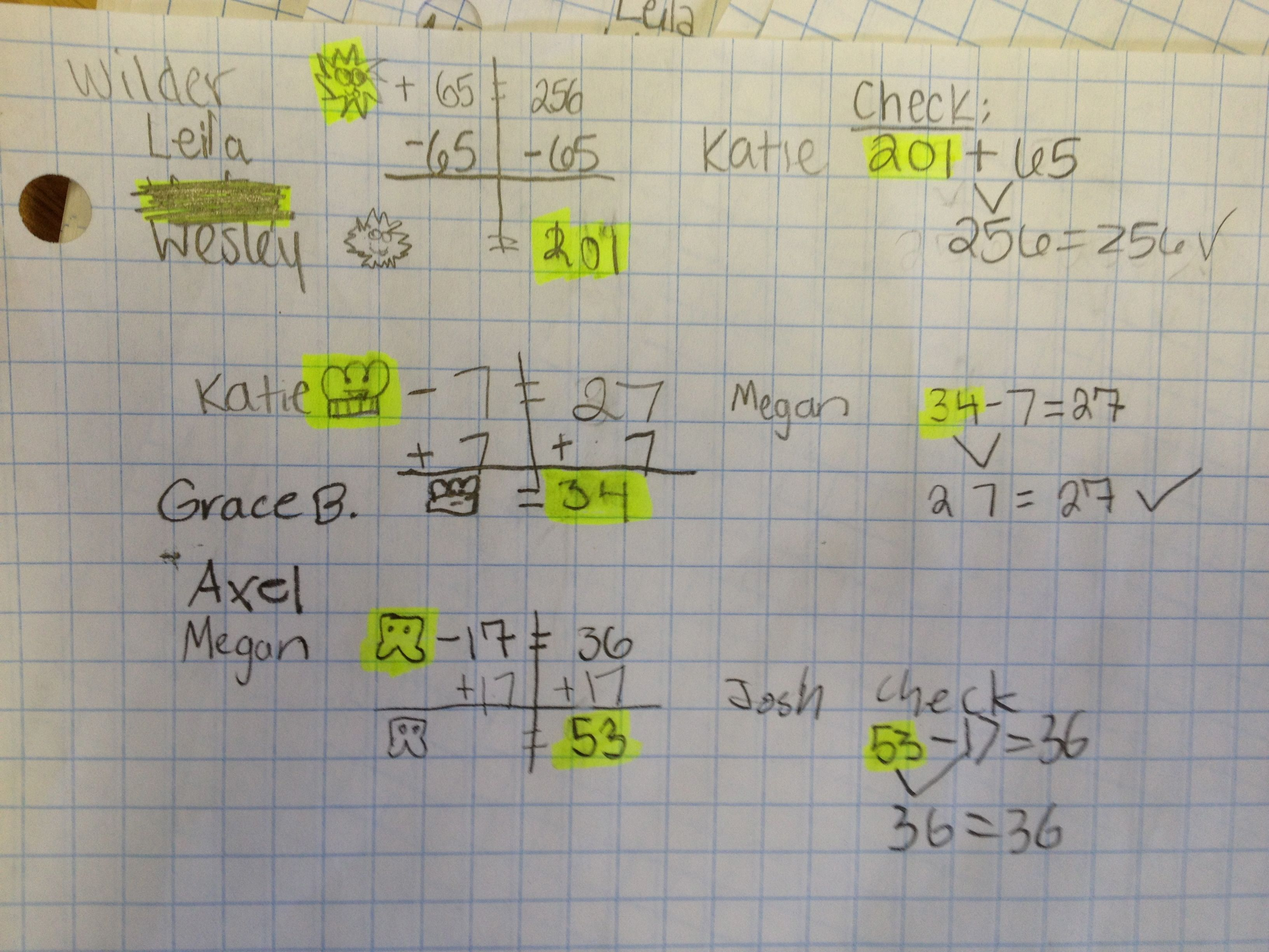 Multi step equations with fractions worksheet doc