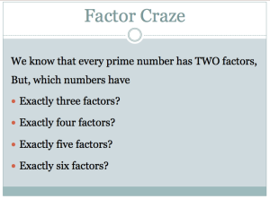 Factor Craze Slide